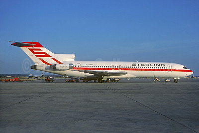 Sterling Airways (1st) Boeing 727-2B7 OY-SBH (msn 22164) PMI (Christian Volpati Collection). Image: 932737.