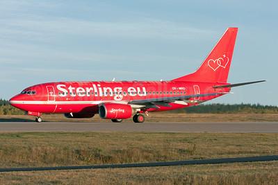 Sterling European Airlines (Sterling.eu) (2nd) Boeing 737-73A OY-MRO (msn 28497) ARN (Stafan Sjogren). Image: 940605.