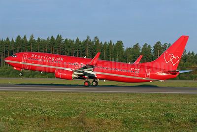 Sterling European Airlines (Sterling.dk) (2nd) Boeing 737-8BK WL OY-SEM (msn 33019) ARN (Stefan Sjogren). Image: 900141.
