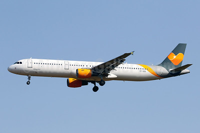 Sunclass Airlines Airbus A321-211 OY-VKD (msn 1960) (Thomas Cook colors) PMI (Javier Rodriguez). Image: 953659.