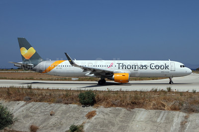 Thomas Cook Airlines Scandinavia Airbus A321-211 WL OY-TCI (msn 6468) RHO (Andi Hiltl). Image: 947687.