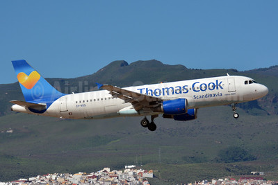 Thomas Cook Airlines Scandinavia (Thomas Cook.com) Airbus A320-214 OY-VKS (msn 1954) LPA (Paul Bannwarth). Image: 933945.