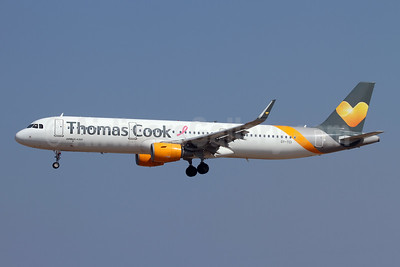 Thomas Cook Airlines Scandinavia Airbus A321-211 WL OY-TCI (msn 6468) RHO (Andi Hiltl). Image: 947688.