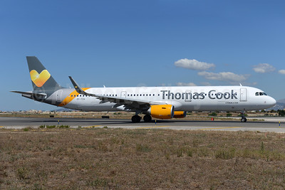 Thomas Cook Airlines Scandinavia Airbus A321-211 WL OY-TCH (msn 6438) PMI (Ton Jochems). Image: 933951.