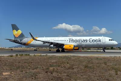 Thomas Cook Airlines Scandinavia Airbus A321-211 WL OY-TCF (msn 6351) PMI (Ton Jochems). Image: 933950.
