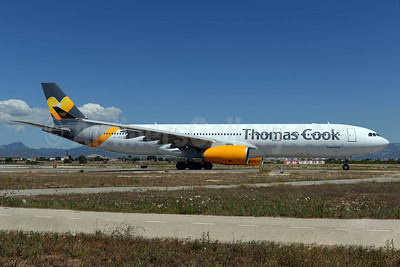 Thomas Cook Airlines Scandinavia Airbus A330-343 OY-VKG (msn 349) PMI (Ton Jochems). Image: 933952.