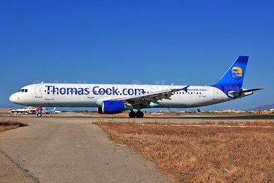 Thomas Cook Airlines Scandinavia (Thomas Cook.com) Airbus A321-211 OY-VKT (msn 1972) PMI (Ton Jochems). Image: 953477.