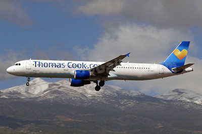 Thomas Cook Airlines Scandinavia (Thomas Cook.com) Airbus A321-211 OY-VKT (msn 1972) (Sunny Heart) TFS (Paul Bannwarth). Image: 922324.