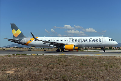 Thomas Cook Airlines Scandinavia Airbus A321-211 WL OY-TCD (msn 6314) PMI (Ton Jochems). Image: 933949.