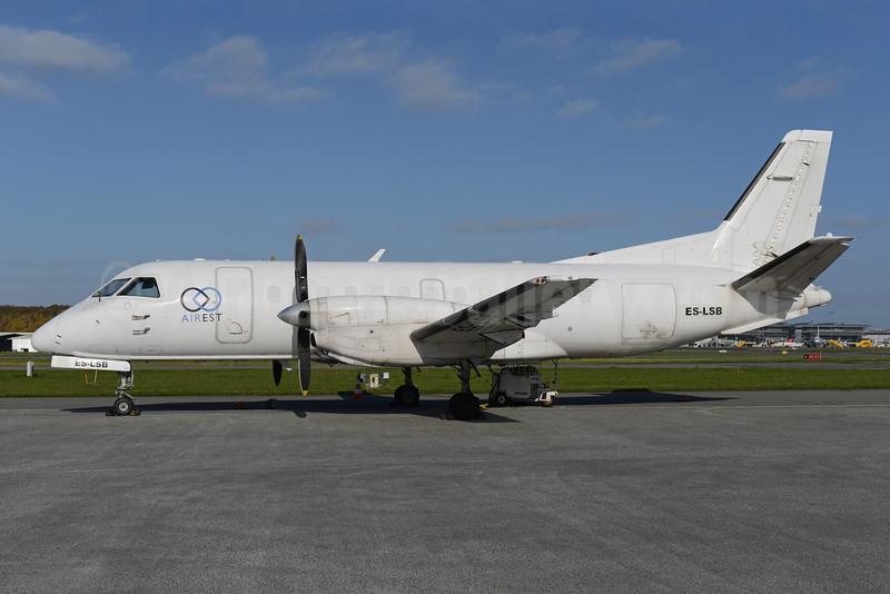 Airest SAAB 340A (F) ES-LSB (msn 045) BLL (Ton Jochems). Image: 929818.