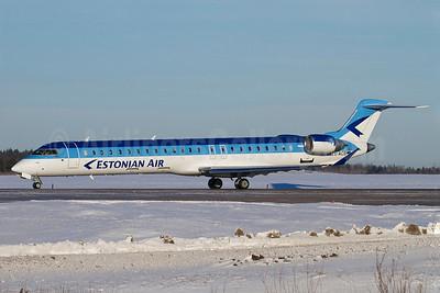 Estonian Air (Estonian Airlines) Bombardier CRJ900 (CL-600-2D24) ES-ACB (msn 15261) ARN (Stefan Sjogren). Image: 906424.
