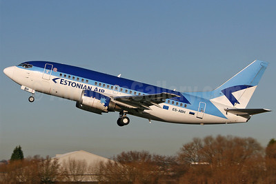 Estonian Air (Estonian Airlines) Boeing 737-53S ES-ABH (msn 29074) SEN (Keith Burton). Image: 900957.