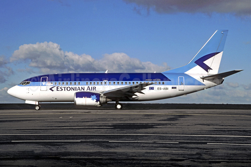 Estonian Air (Estonian Airlines) Boeing 737-5L9 ES-ABI (msn 29234) CDG (Christian Volpati). Image: 904849.