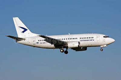 Estonian Air (Estonian Airlines) Boeing 737-505 ES-ABO (msn 24646) AMS (Michael Stappen). Image: 906422.