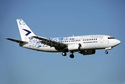 Estonian Air (Estonian Airlines) Boeing 737-505 ES-ABO (msn 24646) (Tallinn-European Capital of Culture 2011) AMS (Ariel Shocron). Image: 905078.