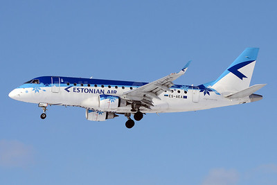 Estonian Air Embraer ERJ 170-100LR ES-AEA (msn 17000093) SVO (OSDU). Image: 911701.