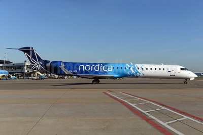 Nordica (Adria Airways) Bombardier CRJ900 (CL-600-2D24) ES-ACG (msn 15277) AMS (Ton Jochems). Image: 935492.