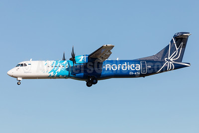Nordica - Nordica Regional Jet ATR 72-212A (ATR 72-600) ES-ATA (msn 1038) ARN (Stefan Sjogren). Image: 942536.