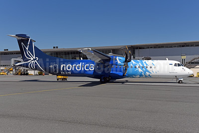 Operated by Nordica Regional Jet for SAS