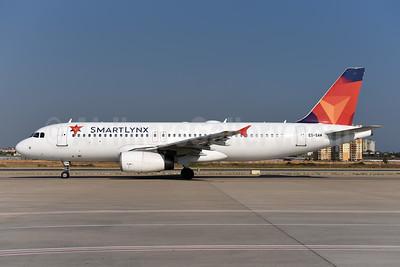SmartLynx Airlines Estonia Airbus A320-232 ES-SAM (msn 1896) AYT (Ton Jochems). Image: 945469.