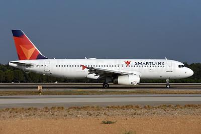 SmartLynx Airlines Estonia Airbus A320-232 ES-SAM (msn 1896) AYT (Ton Jochems). Image: 945468.
