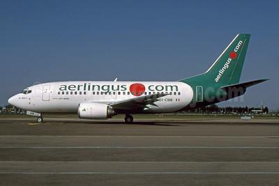 Aer Lingus (aerlingus.com) Boeing 737-548 EI-CDB (msn 24919) (.com livery) LHR (SPA). Image: 933029.
