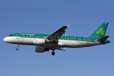 Aer Lingus Airbus A320-214 EI-DES (msn 2635) LHR (SPA). Image: 927725.