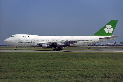 Aer Lingus Boeing 747-148 EI-ASJ (msn 19745) DUB (SM Fitzwilliams Collection). Image: 933433.
