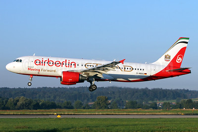 Airberlin (airberlin.com) - Etihad Airways Airbus A320-214 D-ABDU (msn 3516) ZRH (Andi Hiltl). Image: 934489.