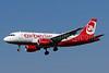 Airberlin (airberlin.com) (Belair Airlines) Airbus A319-112 HB-JOY (msn 3245) ZRH (Paul Bannwarth). Image: 924081.