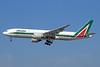 Alitalia (2nd) (Compagnie Aerea Italiana) Boeing 777-243 ER EI-ISD (msn 32860) LAX (Michael B. Ing). Image: 925236.