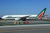 Alitalia (2nd) (Compagnie Aerea Italiana) Boeing 777-243 ER EI-ISB (msn 32859) LAX (Ton Jochems). Image: 921056.