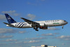 Alitalia (2nd) (Compagnie Aerea Italiana) Boeing 767-35H ER EI-DBP (msn 26389) (SkyTeam) MIA (Dave Campbell). Image: 904433.