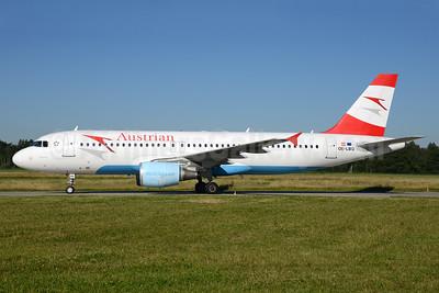 Austrian Airlines Airbus A320-214 OE-LBQ (msn 1137) ZRH (Rolf Wallner). Image: 933792.