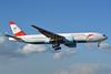 Austrian Airlines Boeing 777-2B8 ER OE-LPD (msn 35960) MIA (Jay Selman). Image: 402731.