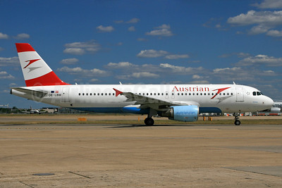 Austrian Airlines Airbus A320-214 OE-LBM (msn 1504) LHR. Image: 933113.