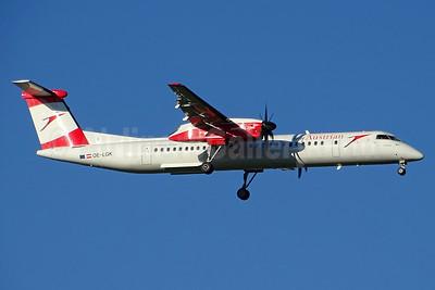 Austrian.com - my Austrian (Austrian Airlines)   Bombardier DHC-8-402 (Q400) OE-LGK (msn 4280) BSL (Paul Bannwarth). Image: 934526.