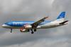 bmi (British Midland International) Airbus A320-232 G-MIDT (msn 1418) LHR (Bruce Drum). Image: 101565.