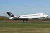 Blue1 Boeing 717-2K9 OH-BLN (msn 55053) (Star Alliance - 15 Years) MAN (Paul Ferry). Image: 928542.
