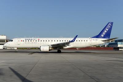 Borajet Airlines Embraer ERJ 190-100LR TC-YAG (msn 19000263) AYT (Ton Jochems). Image: 934509.