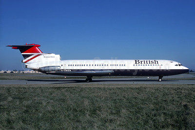 British Airways Hawker Siddeley HS.121-3B-101 Trident 3B G-AWZN (msn 2315) ORY (Jacques Guillem). Image: 933888.