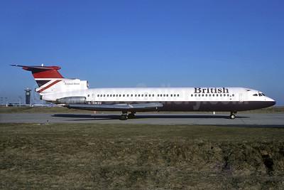 British Airways Hawker Siddeley HS.121-3B-101 Trident 3B G-AWZU (msn 2321) ORY (Jacques Guillem). Image: 933889.