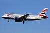 British Airways Airbus A319-131 G-EUPV (msn 1423) LHR (SPA). Image: 926796.