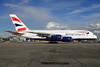 British Airways Airbus A380-841 G-XLEK (msn 194) LHR. Image: 932783.