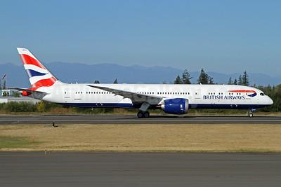 British Airways Boeing 787-9 Dreamliner N1006F (G-ZBKG) (msn 38623) PAE (Nick Dean). Image: 934471.