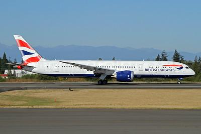 British Airways Boeing 787-9 Dreamliner G-ZBKN (msn 38630) PAE (Nick Dean). Image: 934478.