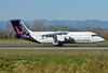 Brussels Airlines BAe RJ100 (146-RJ100) OO-DWL (msn E3361) BSL (Paul Bannwarth). Image: 929338.