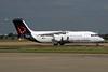 Brussels Airlines BAe RJ100 (146-RJ100) OO-DWJ (msn E3355) LHR. Image: 929336.