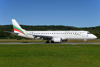 Bulgaria Air Embraer ERJ 190-100 IGW LZ-VAR (msn 19000496) ZRH (Rolf Wallner). Image: 934501.
