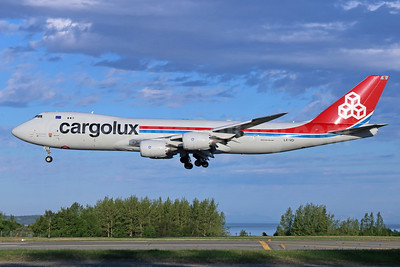 Cargolux Airlines International (Luxembourg) Boeing 747-8R7F LX-VCI (msn 35822) ANC (Michael B. Ing). Image: 933017.